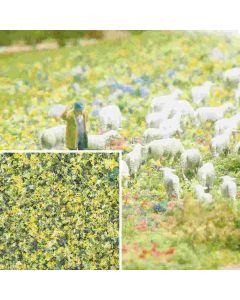 Busch bloemenvlokken geel/groen 7358