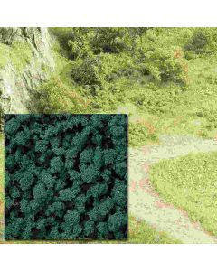 Busch schuimvlokken donker groen 7363
