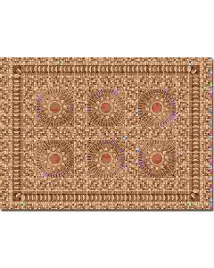 Busch dekopl. 2 st. tegels mozaiek 7414