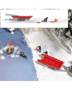 Busch H0 Mini scene redding op het ijs 7855