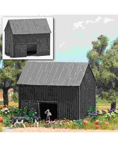 Busch kleine schuur hout n 8201