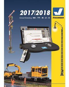Viessmann catalogus 2017/2018 Duits