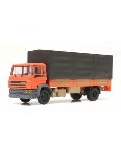 Artitec H0 DAF kantelcabine C, open bak, huif, oranje 487.053.01