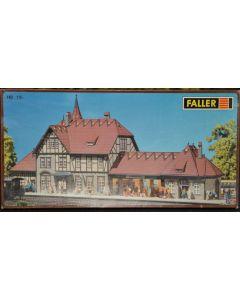 Faller H0 station Schwarzburg 110116 - NieuweKans