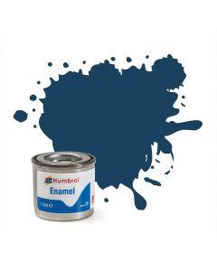 Humbrol verf nr 104 oxford blauw mat HAA1153