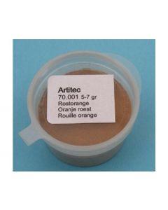 Artitec  Oranje roest (verweringspoeder) 70.001
