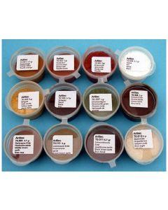 Artitec  Set poeders 12 Kleuren (verweringspoeder) 70.000
