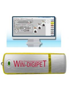 Uhlenbrock Digitaal Win-Digipet 2015 Small Edition (USB) 19920