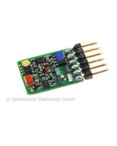 Uhlenbrock Digitaal ID2 Minidecoder 6-polig NEM651 73415