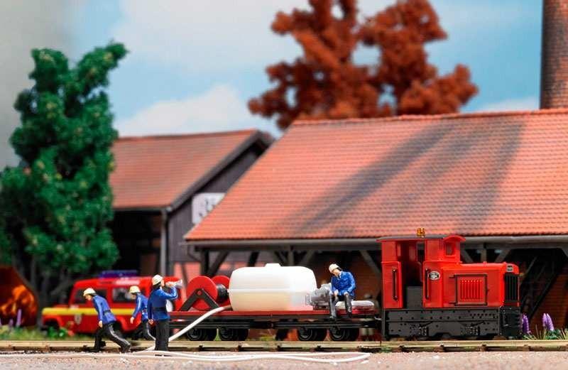 Busch Veldspoor brandweertrein