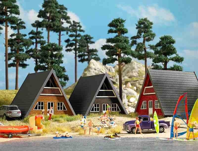 Faller Scandinavische huizen h0