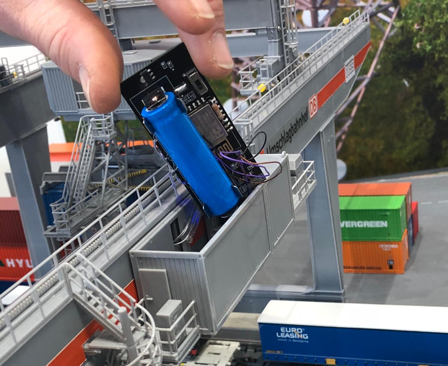 Containerterminal besturingsunit
