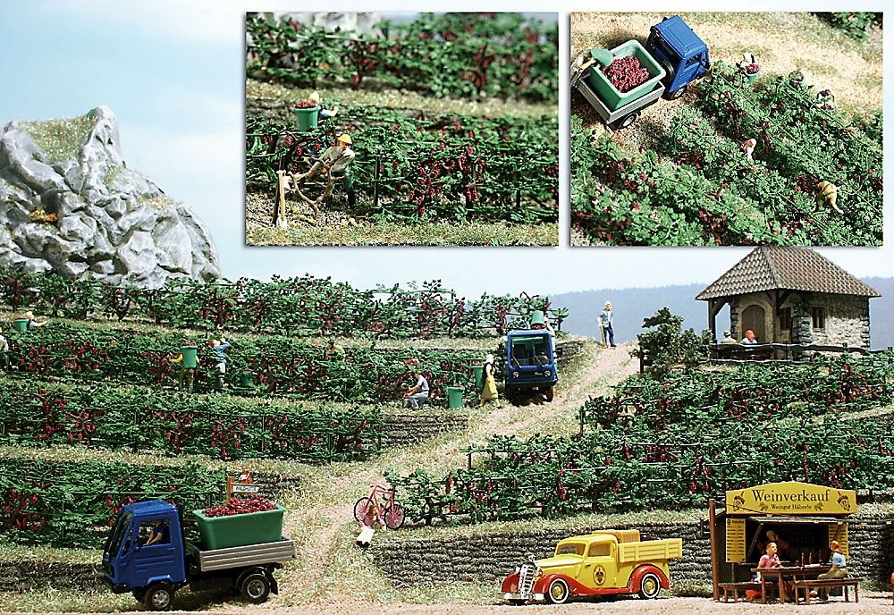 Busch pur natur Wijngaard