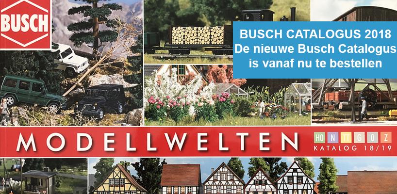 De nieuwste Busch catalogus is uit