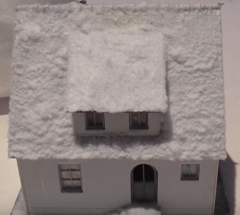 De sneeuwpoederset van Faller